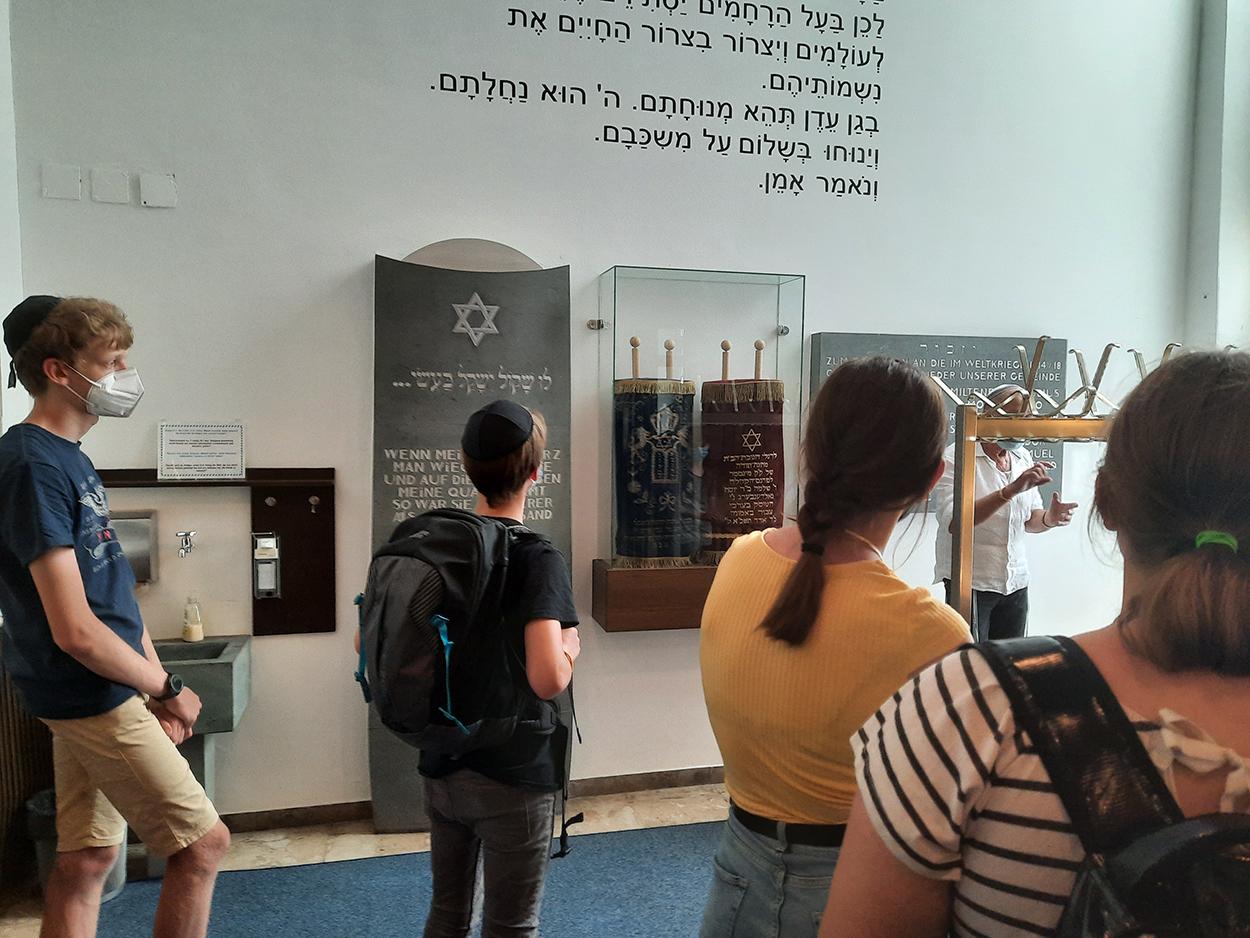 Auf den Spuren jüdischen Glaubens